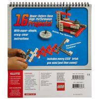 英文原版乐高积木科技机械砖块书LEGO Crazy Action Contraptions 儿童玩具书 锻炼儿童动手能