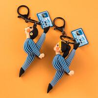 可爱礼品男女汽车钥匙链圈环挂件书包挂饰