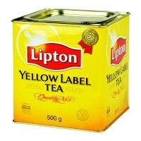 进口 立顿/Lipton斯里兰卡原装进口黄牌精选红茶 500g黄罐装