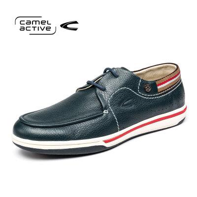 Camel Active/骆驼动感男士皮鞋学生潮流板鞋软皮鞋时尚休闲鞋