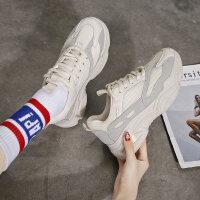 运动鞋2019新款女老爹鞋女韩版网布透气休闲鞋女时尚百搭运动鞋女