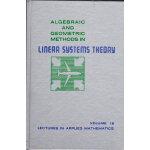 【预订】Algebraic and Geometric Methods in Linear Systems Theor