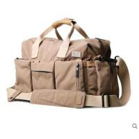 多口袋可拆卸耐用帆布包大容量旅行旅游手提包个性休闲时尚男士单肩包斜挎包