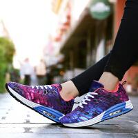 乌龟先森 运动鞋 女士休闲系带学生跑步鞋女式拼色网布轻便时尚鞋子