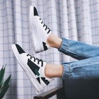 2019春夏季新款帆布鞋男士休闲鞋韩版布鞋男鞋运动平板鞋潮流鞋子小白鞋跑步鞋经典款潮鞋运动低帮耐磨鞋
