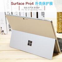 微软平板电脑surface3背膜pro4贴膜surface GO保护背贴新款pro5 6 全机身膜贴 surface
