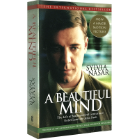 华研原版 美丽心灵 英文原版传记 Beautiful Mind 纳什传 全英文版进口英语书籍