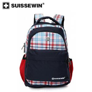 【SUISSEWIN旗舰店 支持礼品卡支付】小学生书包1-6年级双肩包减压背包多分割区间学生书包