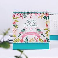 创意小台历可爱2018韩版日历2017年计划本年历月历本大格子卡通本