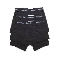 Calvin Klein凯文克莱 美国专柜 男士纯棉平角内裤三条装美国直邮-NU2666