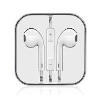 [礼品卡]苹果专用线控耳机 苹果iphone se耳机苹果iphone6/6s plues线控耳机ipod耳机苹果线控