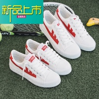 新品上市情侣鞋子一男一女小白鞋18秋季新款百搭韩版经典潮流男生帆布鞋