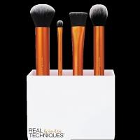 rt化妆刷 RT初学者基础底妆打底散粉化妆刷刷便携式彩妆工具套装1533 RT1533 人造纤维