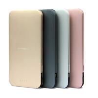 MIPOW IPHONE/6s/7 plus/8/X充电宝MFi认证迷你苹果专用超薄便携移动电源