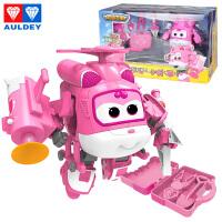 奥迪双钻超级飞侠玩具乐迪变形机器人多多小爱 豪华版机器人小爱