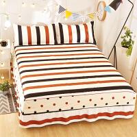 防灰尘床罩席梦思床罩床裙式床套单件防尘防滑保护套1.5米1.8m床垫床单床笠