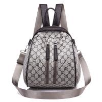 厂家直销三用背包 欧美时尚撞色双肩包女式包包学生书包一件 卡其色