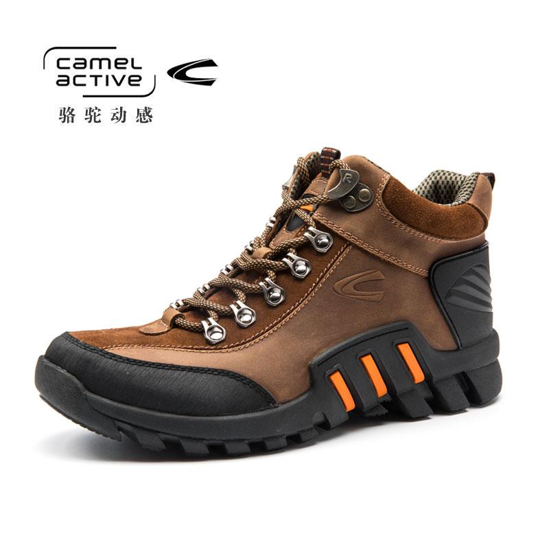 Camel Active/骆驼动感 登山鞋户外头层运动徒步鞋登山鞋跑步男鞋