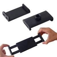 平板电脑支架懒人床上夹子头波珠圆孔手机通用拉伸单独配件座