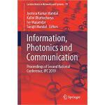 【预订】Information, Photonics and Communication 9789813294523