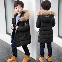 童装男童儿童冬装中长款中大童冬季外套