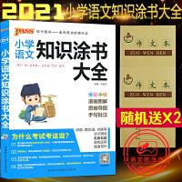 小学语文知识涂书大全全彩版pass绿卡图书小学语文基础知识全解清单2020版
