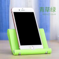 懒人手机支架iPad床头支架平板电脑通用夹子桌面折叠卡扣式手机展示架