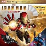 英文原版 钢铁侠三部曲 朗读故事书+CD 漫威有声读物 Iron Man Trilogy Read-Along Sto