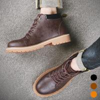 承发 靴子男士时尚马丁靴工装男鞋 1259