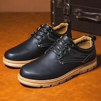 男士休闲皮鞋夏天低帮雨鞋防滑厨房防水防油厨师鞋劳保耐磨工作鞋
