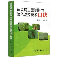 蔬菜病虫害诊断与绿色防控技术口诀 化学工业