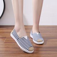 夏季老北京布鞋女士网鞋一脚蹬镂空网面单鞋中老年软底透气妈妈鞋