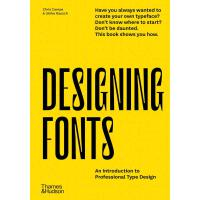 正版 Designing Fonts �O�字�w:��I字�w�O��介 英文原版