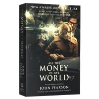 金钱世界 电影版 英文原版书 All the Money in the World 英文版人物传记 电影原著小说 豪门
