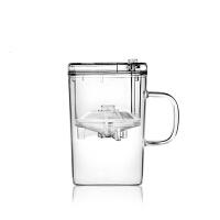 尚明分体式台湾飘逸杯泡茶壶高硼硅耐热玻璃茶具自动全过滤可拆洗内胆花茶茶杯 S001