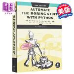 【中商原版】Python编程快速上手:让繁琐工作自动化 英文原版 Automate the Boring Stuff w
