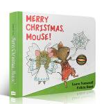 英文原版 Merry Christmas, Mouse! 圣诞节快乐小老鼠if you give a Mouse a