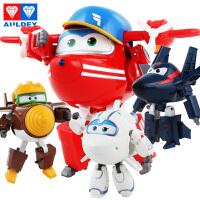 奥迪双钻超级飞侠玩具大号变形机器人全套小飞侠玩具 淘淘 金刚 酷雷 米莉 儿童玩具