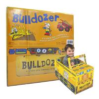 Convertible Bulldozer 变形大冒险车书 推土机 可组装立体变形折叠玩具书 大开本地板书 儿童英语启