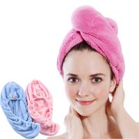 干发帽浴帽女士专用干发帽超柔超吸水不掉毛浴帽均码