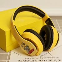 变形金刚蓝牙耳机头戴式无线音乐苹果手机电脑游戏大耳麦黄蜂跑步运动重低音立体声吃鸡 大黄蜂耳机