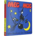 Meg and Mog 女巫麦格和小猫莫格 英文原版绘本纸板书
