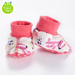 【加拿大童装】Gagou Tagou新生儿用品男女宝宝纯棉婴儿袜套护脚套棉袜
