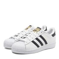adidas阿迪三叶草 大童 SUPERSTAR 潮流经典休闲鞋C77154