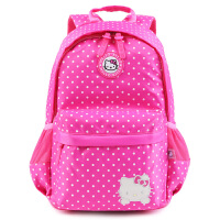 HelloKitty凯蒂猫 小学生书包3-6年级女孩双肩包 SK91013
