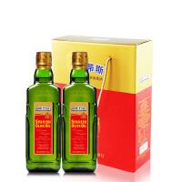 西班牙进口 BETIS贝蒂斯 特级初榨橄榄油 礼盒装 500ml*2