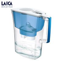 意大利原装进口laica净水器莱卡滤水壶家用过滤净水壶净水桶 J51 红色/绿色/蓝色