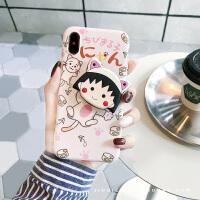 可爱卡通iPhone6sPlus/7/8软胶壳套苹果XS max手机壳防摔创意XR女