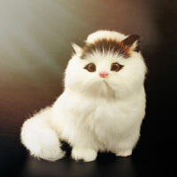 会叫的猫玩偶仿真猫咪仿真动物模型小猫咪儿童动物玩具