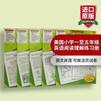 正版 学乐成功系列 Success with Reading5册学乐英语阅读理解练习册 英文原版 美国小学1-5年级